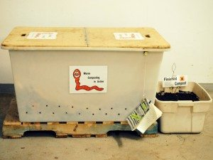 Composting Bin maintained by Edmonton's Master Composters Recyclers