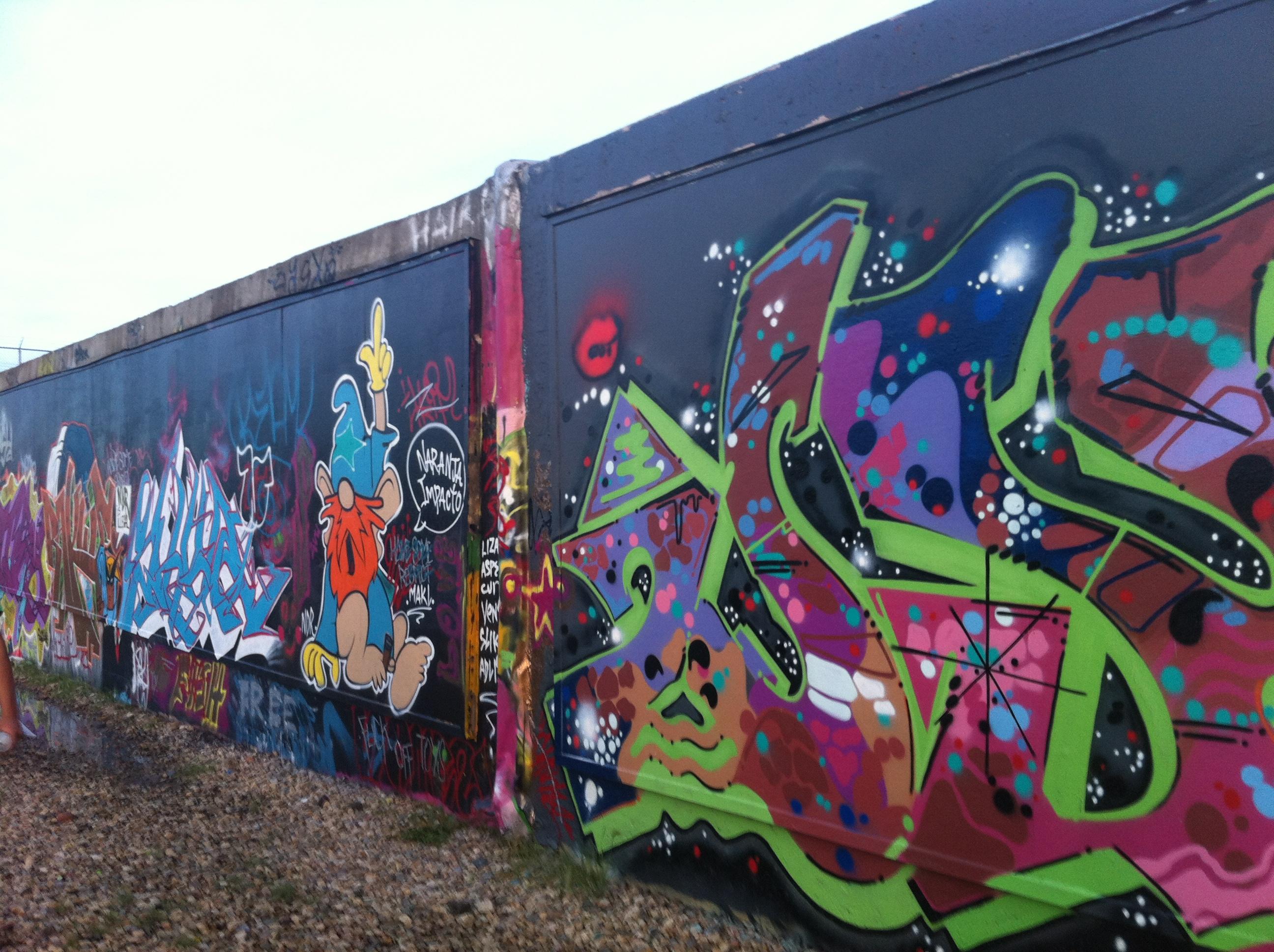 Graffiti wall calgary - Edmonton Free Wall Legal Graffiti Site