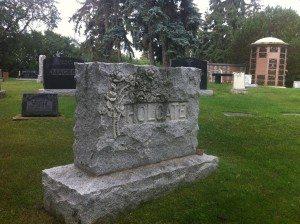 Holgate headstone