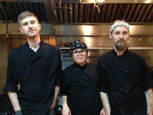 Mirepoix Trio chefs