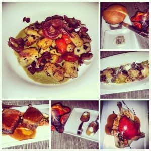 An indulgent meal of fresh baked bread, ravioli, gnocchi, duck and short ribs. Photos: Crystal Lee