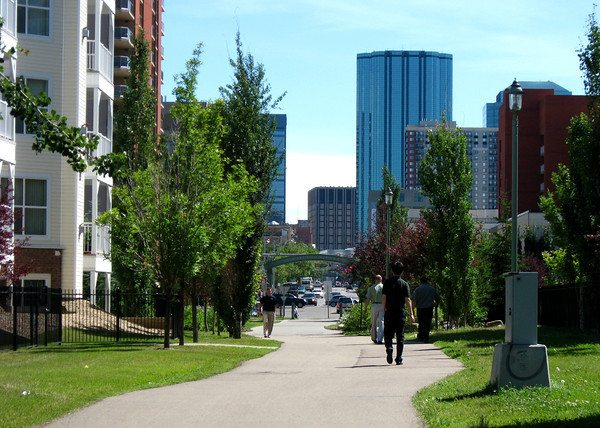 car-free walkable neighbourhoods