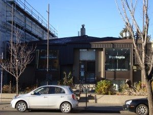 Douglas Udell Gallery on 124 Street. Photo: Cam Wallace