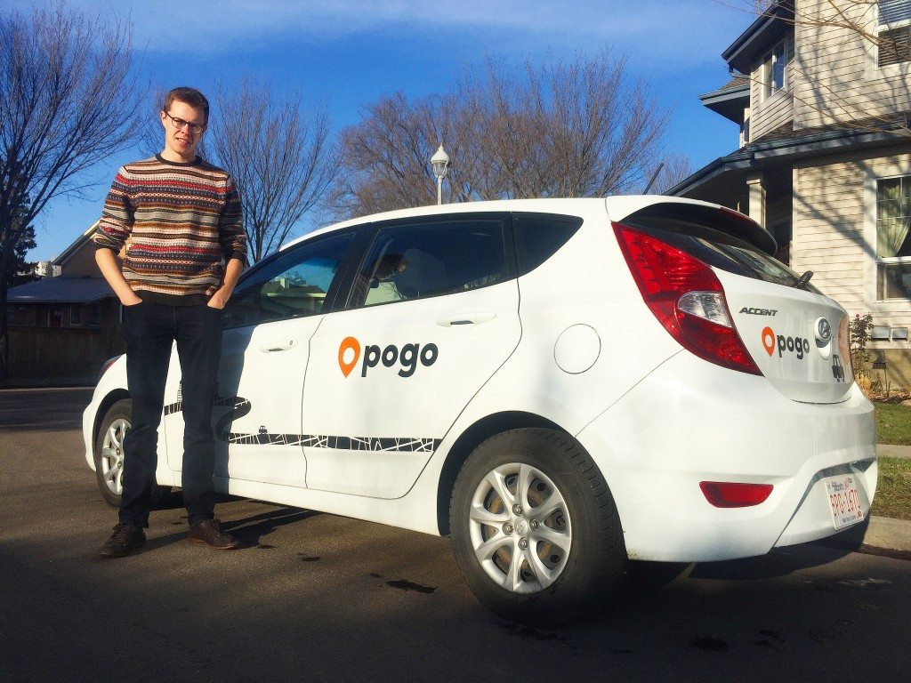 POGO CarShare in Edmonton