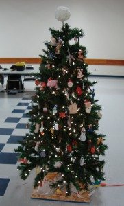 The Woodcarver's Club Christmas Tree, donated to the Festival of Trees in 2015.
