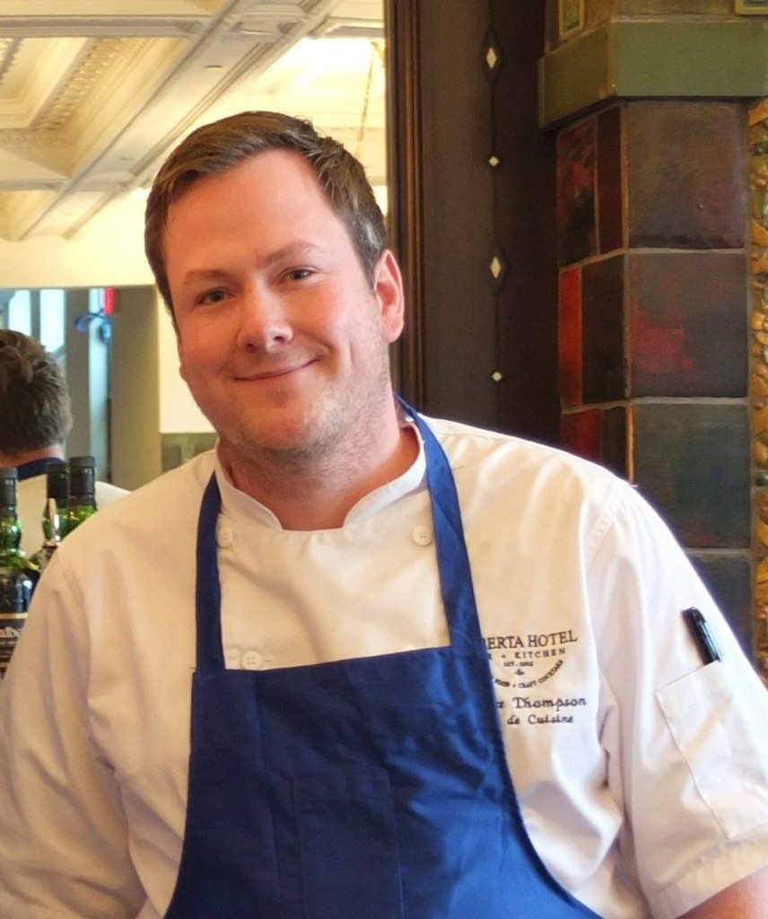 Alberta Hotel Bar + Kitchen owner Spencer Thompson. Photo: Crystal Lee