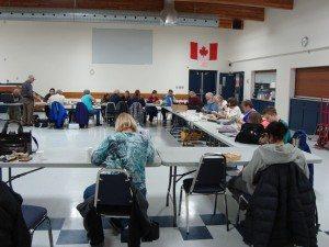 Northern Alberta Woodcarervers Association meetings <em>Photo: Erin Wallace</em>