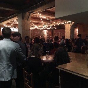 Green Drinks Edmonton: Local Food on March 2, 2016. Photo: Deborah Merriam