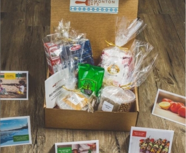 12 Days of YEG: Giveaway! The Celebration Box from EdmontonEats