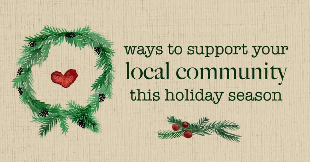 Ways to Support Your Local Community